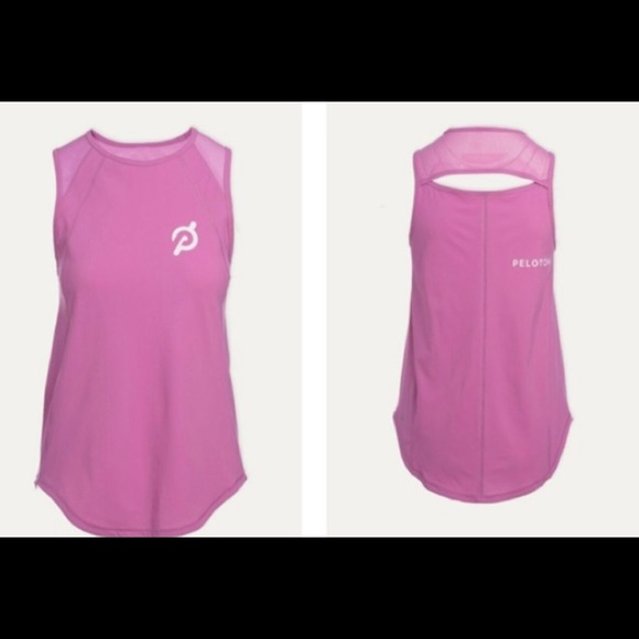 Pink Lululemon/Peloton Top